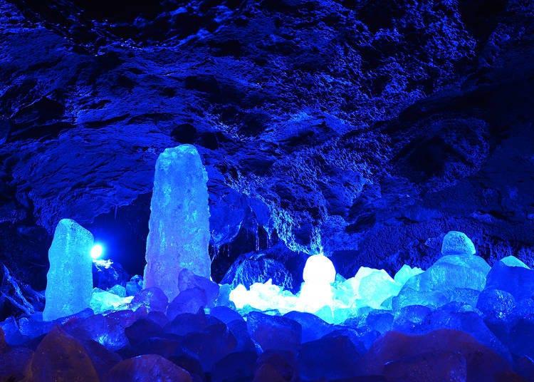 17. Narusawa Ice Cave