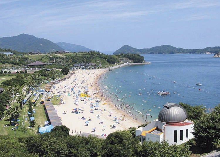 겐민노하마 해변