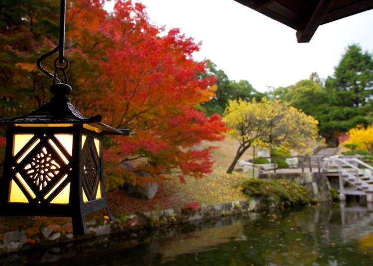 산케이엔 정원