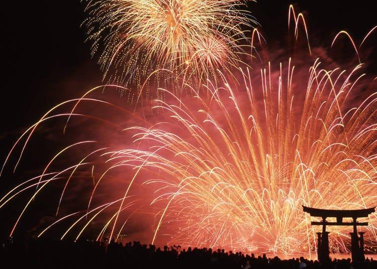 미야지마 수중 불꽃놀이 축제