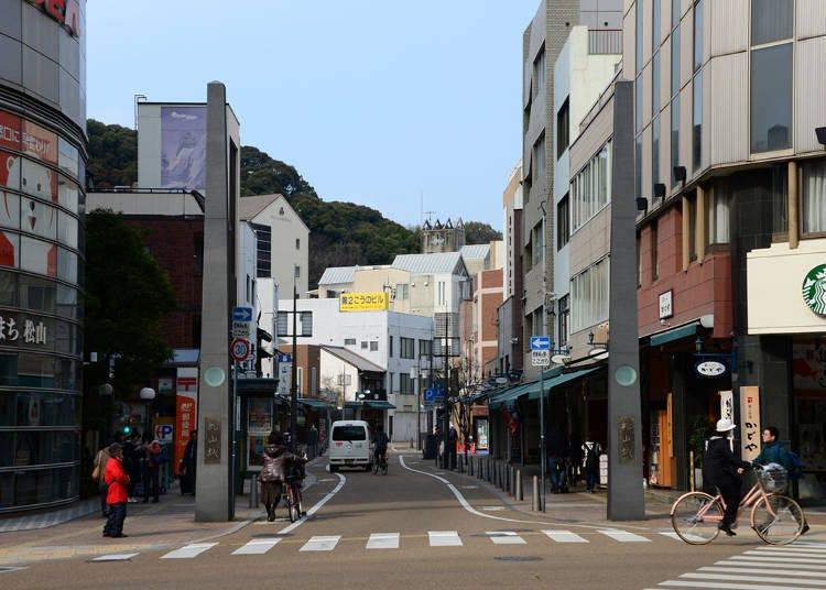 2. Matsuyama Ropeway Shopping Street