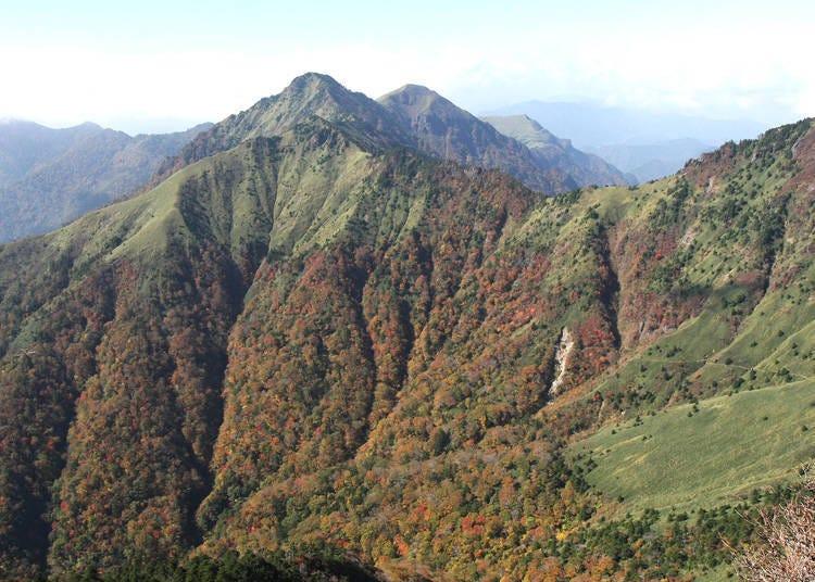 12. Mt. Ishizuchi