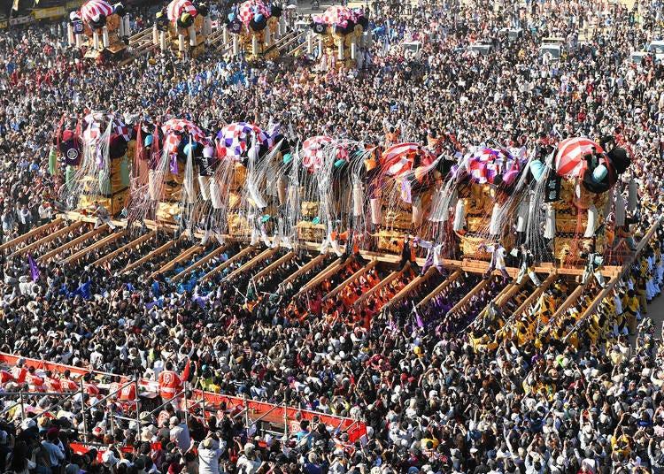 14. Niihama Taiko Festival (Mid-October)