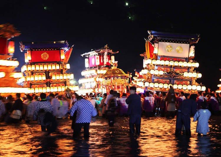 15. Saijo Festival (Mid-October)