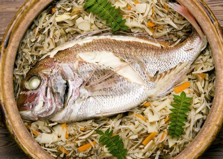17. Enjoy a taste of Tai (Sea Bream)