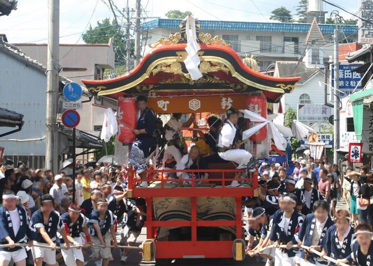 8.臼杵祗園祭典