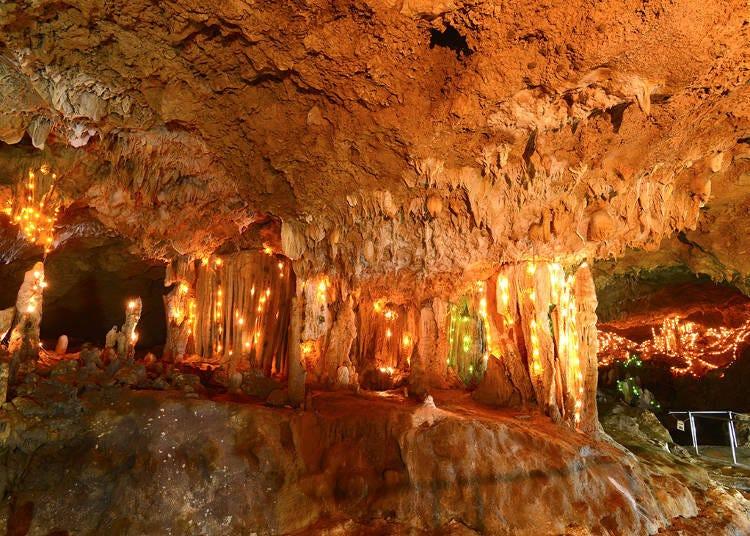 이시가키 섬 석회암 동굴