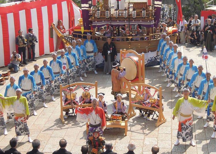 1. Nagasaki Kunchi Festival (October 7-9)