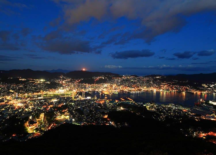 10. Nagasaki Night View on Mt. Inasa