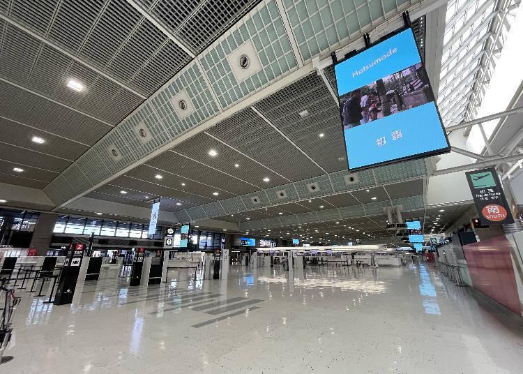 成田机场的国际级新冠肺炎防疫措施