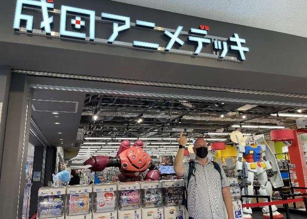 Narita Anime Deck: Must-Do At Narita Airport Before Traveling Back Home!