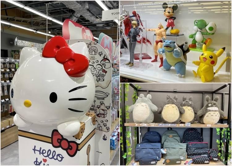 成田機場更好買了!「成田動漫中心」介紹,帶你一起看有哪些動漫商品&美食
