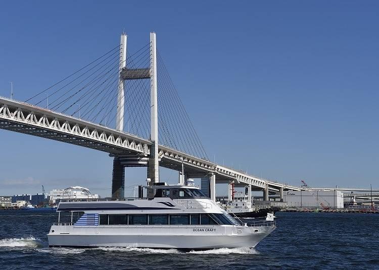 6. Kanagawa Prefecture's Yokohama Port: Views Unique to Yokohama from an Ocean Cruise