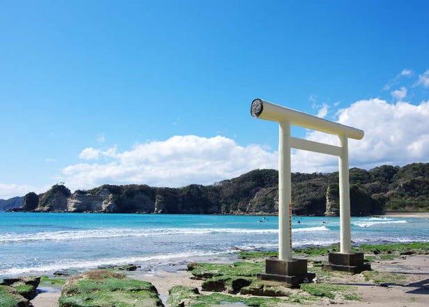 東京近郊超清澈水質海景5選,純淨美景療癒身心!