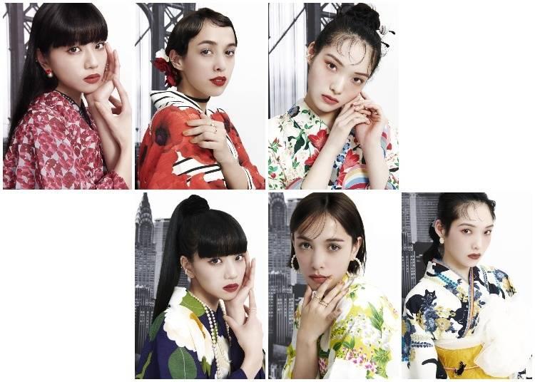 Summer Yukata & Luscious Lipsticks