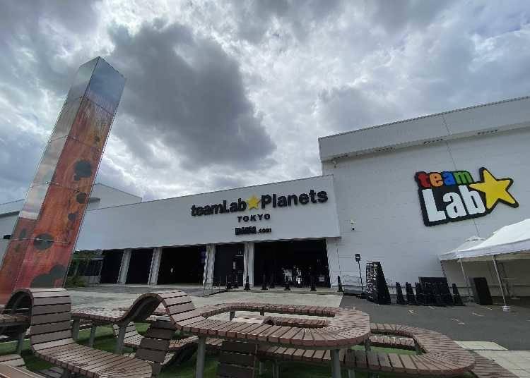 東京豊洲「teamLab Planets TOKYO DMM」小介紹
