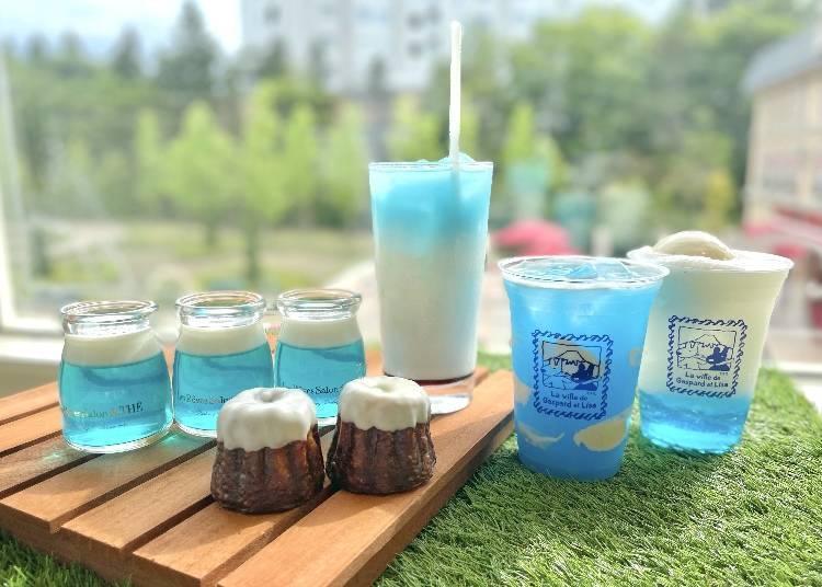 清爽的藍白色調!FUJIYAMA TOWER甜品系列新登場