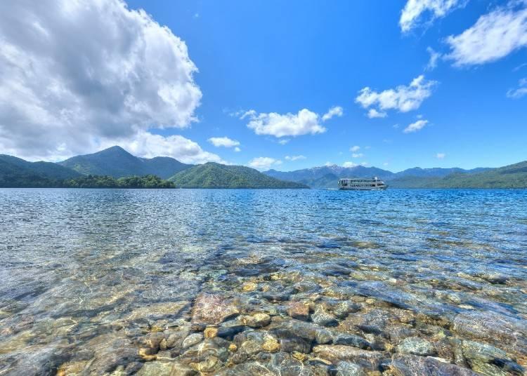 2)アクティブ体験も癒しの風景も「日光・中禅寺湖」