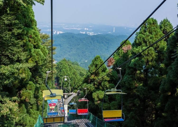 ④東京都內的綠意盎然好去處「高尾山」