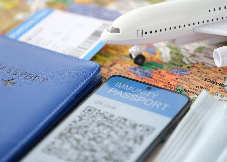 2.渡航予定国・地域すべてがワクチンパスポートを利用できるわけではない!