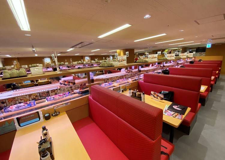 In-store broadcasting: Maintaining the lively sushi joint atmosphere!