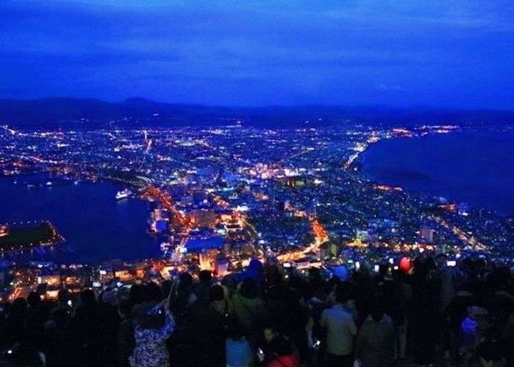 Mount Hakodate Night View Guide: Best View Times, Sightseeing Spots at Hokkaido's Famous Mountain