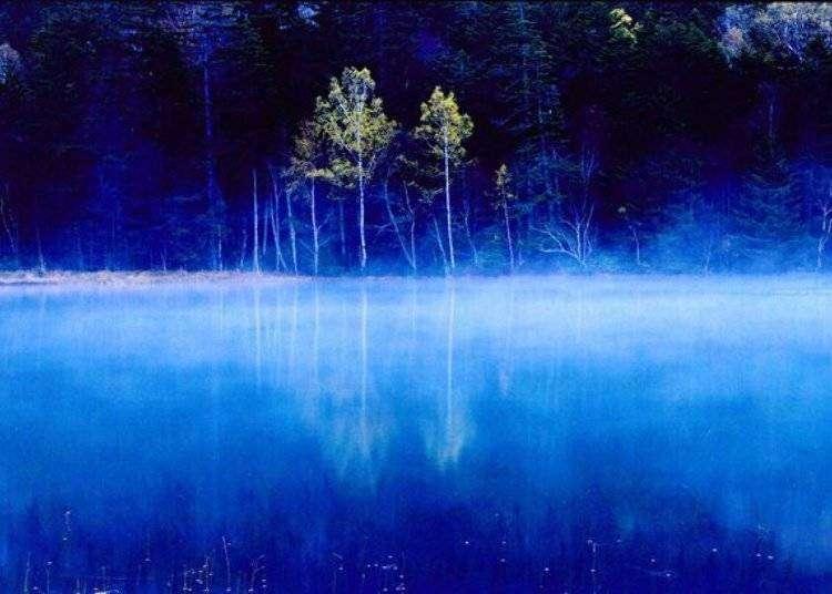 北海道必访自然秘境 五色沼远内多湖的梦幻世界