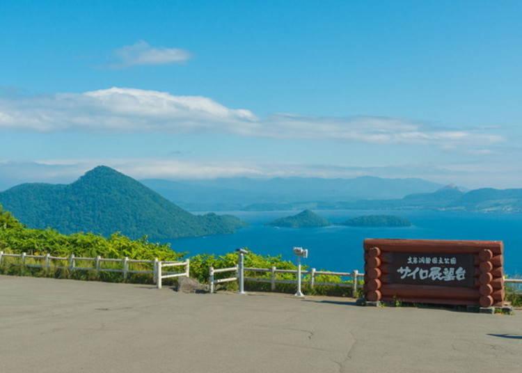 洞爺湖行程⑤ 距離溫泉街約15分鐘車程的觀光景點
