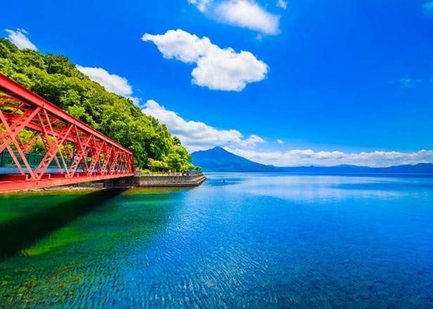 距离札幌1小时的绝美景色!澄净透明支笏湖的一日观光行程