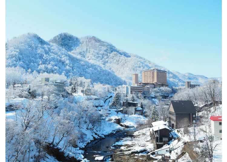 Hokkaido Day Trip: Under 1 hour from Sapporo! Enjoy the hot springs of Jozankei