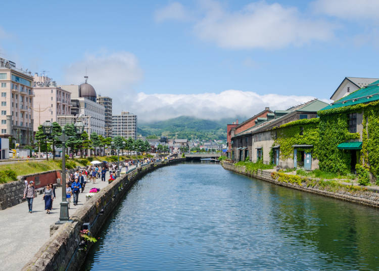 Hokkaido Trip Day 2: Taking the train from Sapporo to Otaru! Shopping and walking around the canal