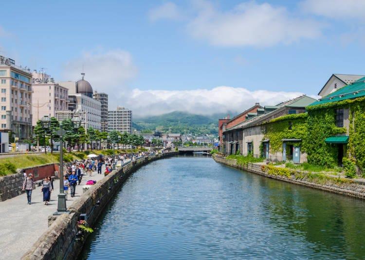 2日目 札幌から鉄道で小樽へ!ハイライトは運河散策とショッピング