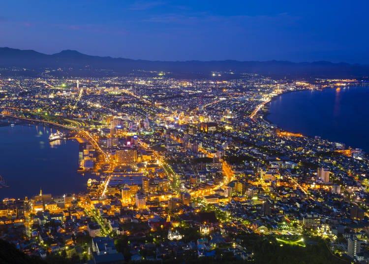 ■第一天 函馆街头漫步!晚上就到函馆山顶欣赏夜景!