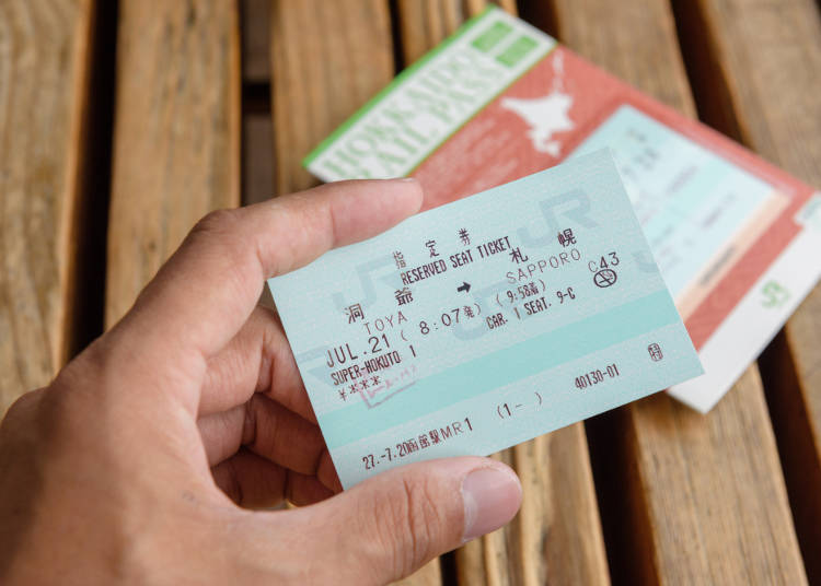 Tip 2: Consider discount tickets for frequent use of trains!