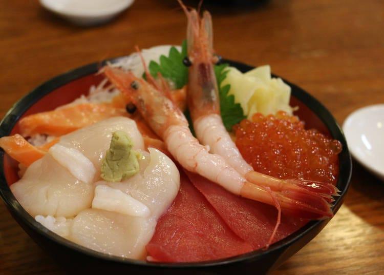 2海鲜盖饭