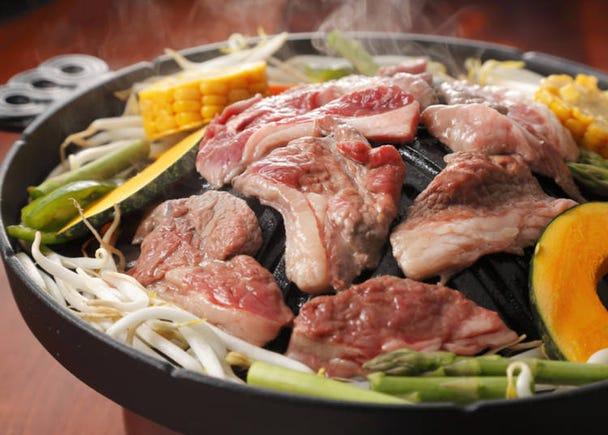 4成吉思汗烤羊肉