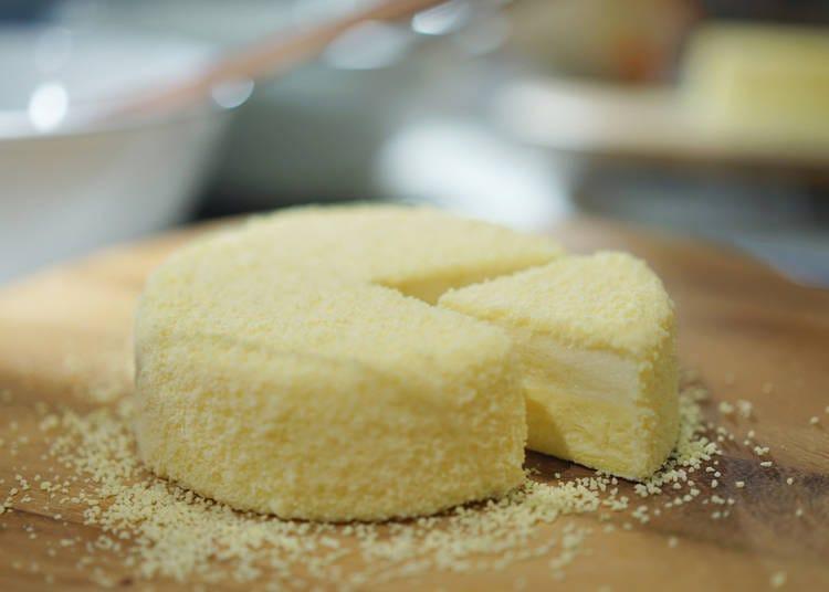 1「LeTAO」(ルタオ)的「奶油柠檬」(ドゥーブルフロマージュ)