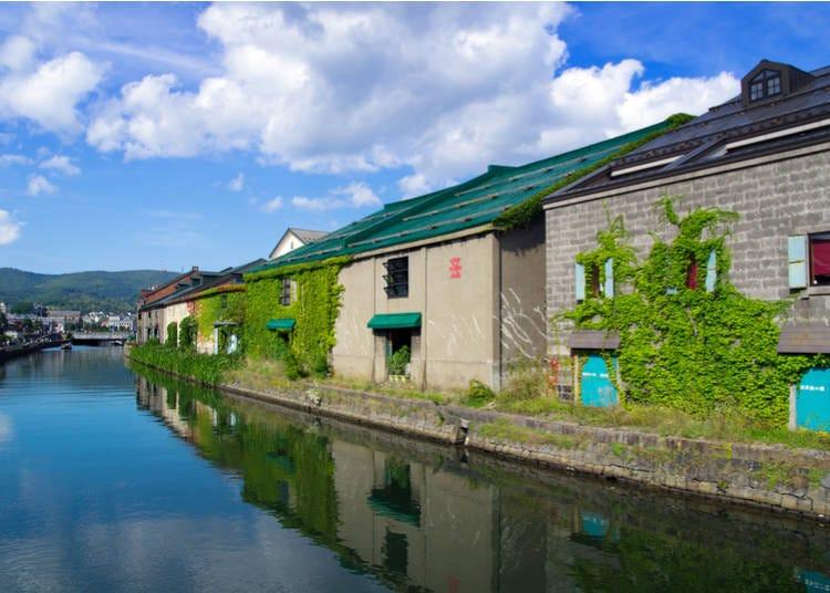 小樽推薦景點①小樽運河