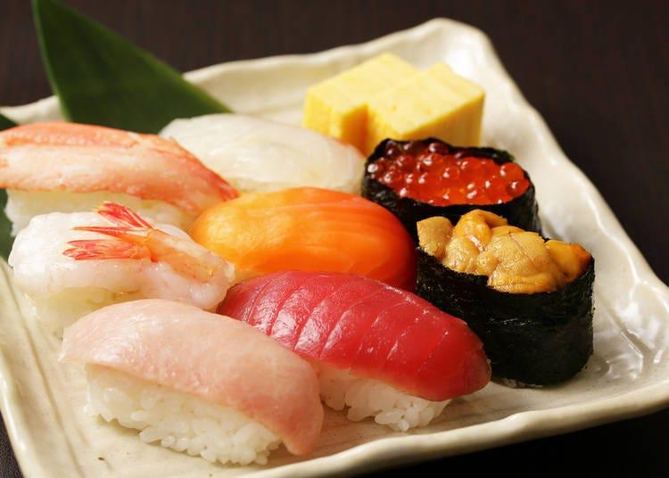 小樽推薦美食①壽司、海鮮蓋飯