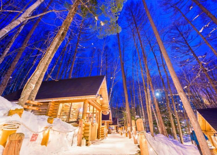 4浪漫又梦幻的购物景点「森林精灵阳台」