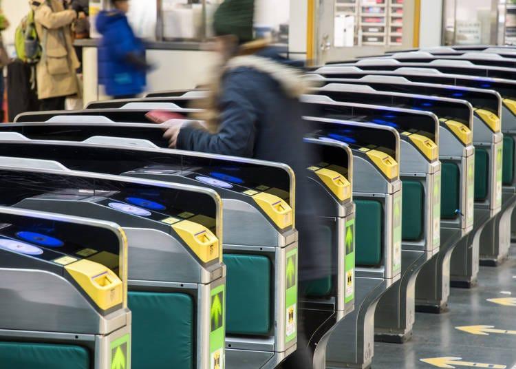 4)地下鉄の乗り方ガイド