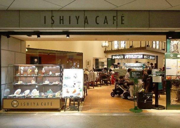 知名餅乾「白色戀人」的霜淇淋!「ISHIYA CAFÉ」