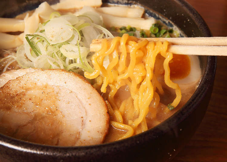 We Check Out the Top 3 Shops in Sapporo's Famous Ramen Alley