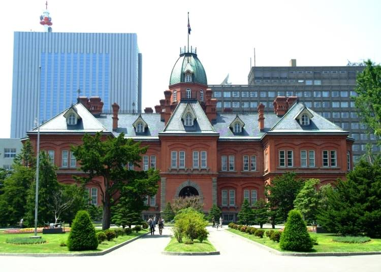 Sapporo Sightseeing Spot 2: National Important Cultural Property, Former Hokkaido Government Office (a.k.a. the Red Brick Office)