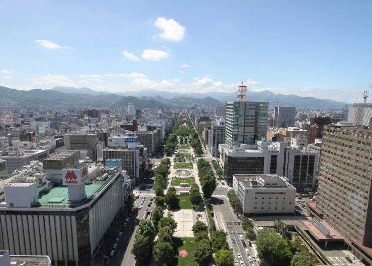 Sapporo Sightseeing Spot 3: Odori Park in Central Sapporo - , Many Events in Winter and Summer!
