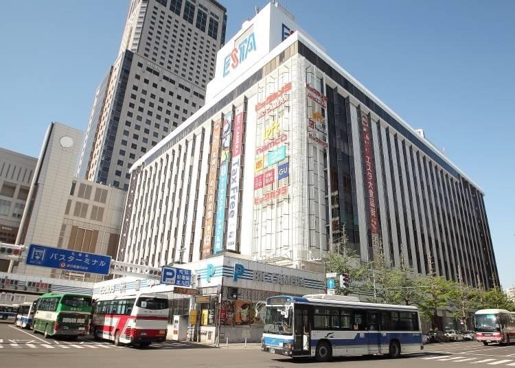 札幌車站前最具代表性的購物中心!與札幌車站直通的「札幌ESTA」