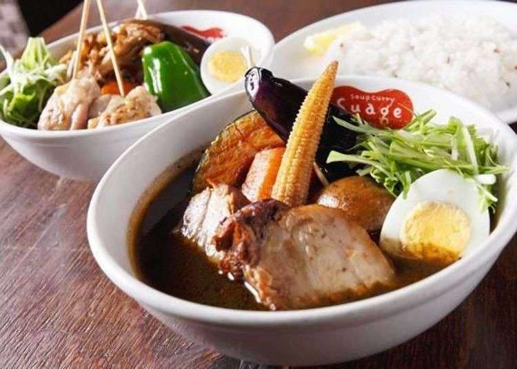 Locals Recommend: 3 Must-Eat Soup Curry Shops in Sapporo!