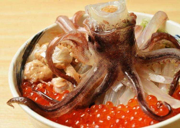 为大家精选出到函馆必吃美食!函馆名产乌贼料理的人气店家!