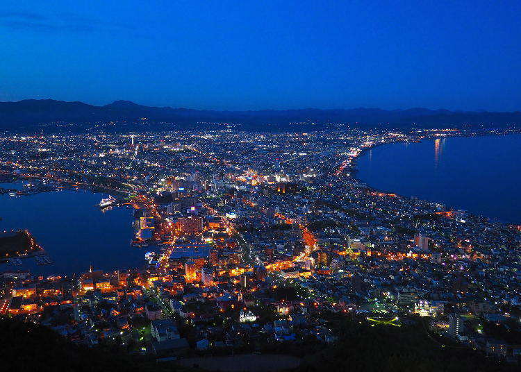 Japan's Third-Best Night View: Discover Mount Hakodate's Ropeway And Its Spectacular Scenery!