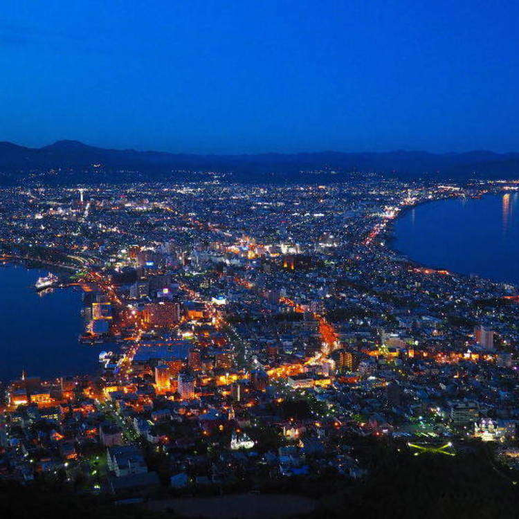 Take Mt. Hakodate's Ropeway and Get a Spectacular Night View!
